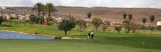 Golfing in Fuerteventura - Caleta De Fuste